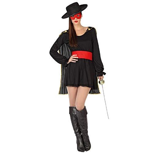 Atosa Déguisement Femme Zorro Sexy