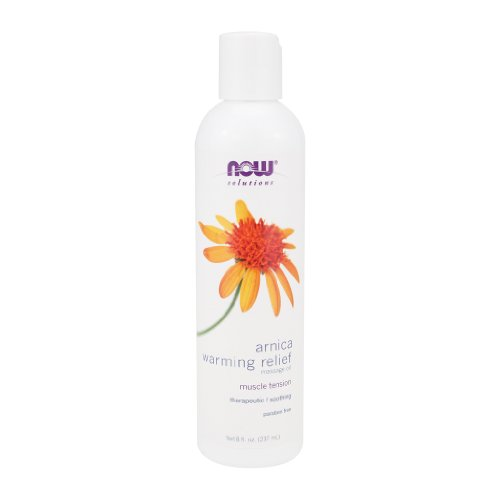 Great Deal! NOW Foods Arnica Warming Relief Massage Oil - 8 oz.
