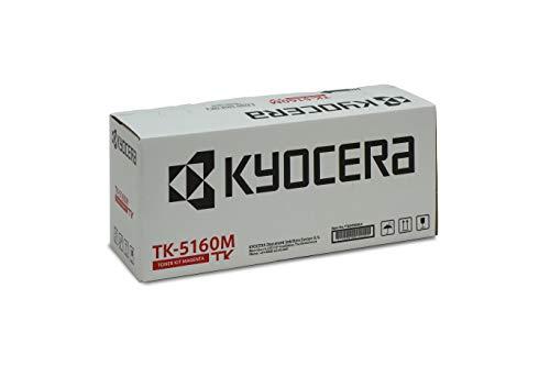Kyocera TK-5160M Toner Magenta. Original Toner-Kartusche 1T02NTBNL0. Kompatibel für ECOSYS P7040CDN
