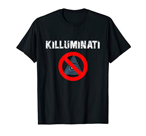 Killuminati | Anti Illuminati T-Shirt | NWO | Verschwörung T-Shirt