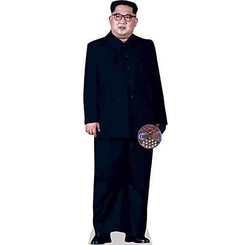 Kim Jong-un (Black Suit) a grandezza naturale