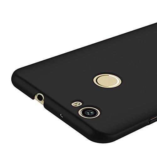 Vooway Nero Ultra Sottile Custodia Cover Case + Pellicola Protettiva per Huawei Nova MS70226