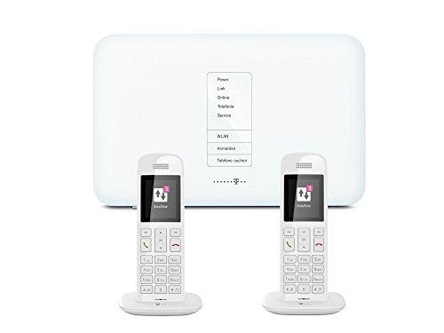 Telekom IP-Anschluss Telefon Starterpack inkl. Speedport W724V und 2x Speedphone 10 weiß