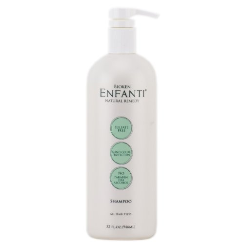 Bioken Enfanti Shampoo for All oz Virginia trust Beach Mall Types - Hair 32
