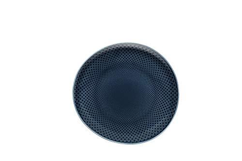 Rosenthal - Junto - Ocean Blue - Teller/Speiseteller/Essteller - Porzellan - flach Ø 22 cm
