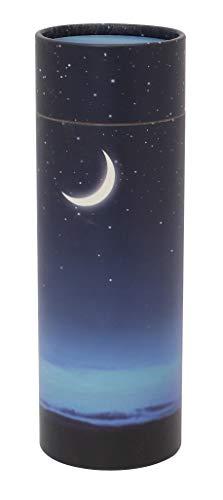 UrnsWithLove Urne zum Verstreuen, umweltfreundlich, biologisch abbaubar (Sternenhimmel), Sternennacht, M