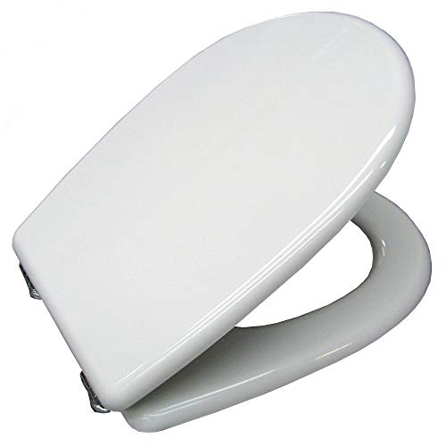 ERCOS Sedile Compatibile con WC ARETUSA di cesame Prodotto Non Originale - Marca ACB Linea Gold