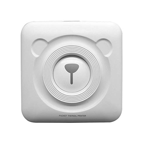 sunyu Beschriftungsgerät Handgerät |Tragbares Etikettendrucker | Weiß | Ideal fürs Büro oder zu Hause