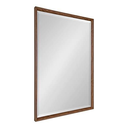 Walnut Glass Mirror - 5