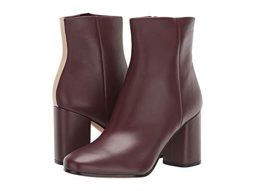 Diane von Furstenberg Robyn Burgundy/Linen Leather 8 M