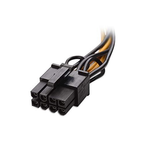 『Cable Matters 6ピン PCIe 8ピン PCIe 変換電源ケーブル ビデオグラフィックカードに対応 2本セット 4 インチ』の3枚目の画像