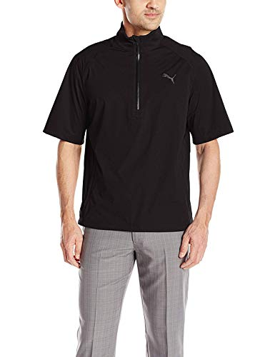 Sale!! PUMA Golf Men's Short Sleeve Rain Popover Jacket