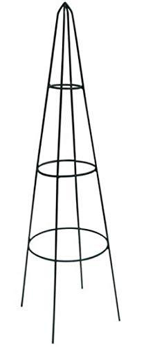 TrendLine Obelisk 150 cm Metall Rankgitter Rosenpyramide Rosenturm Rankturm
