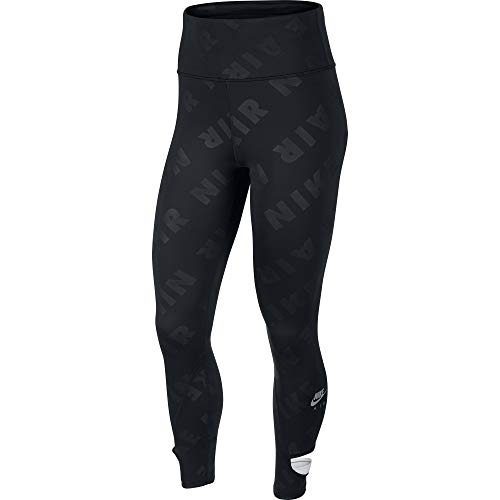 Nike Air HR 7/8 Tight Pantalons, Black/Reflective Silv, L pour Femmes