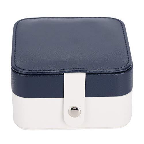 OIHODFHB Caja de almacenamiento portátil para reloj de joyería, pendiente y anillo para collar