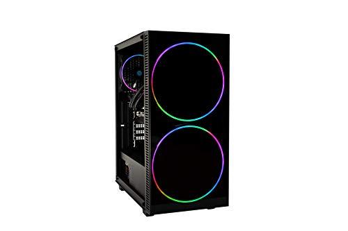 DeepGaming Antrax-L - Ordenador Gaming de sobremesa (Intel Core i5-9400F, 16GB RAM, 240GB SSD + 1TB HDD, Nvidia GTX1650 4GB GDDR5, Sin Sistema Operativo) Color Negro