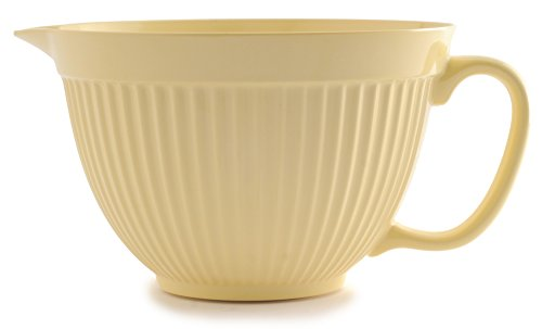 Norpro 1017 Grip-EZ Mixing Bowl, 4 quart, Yellow