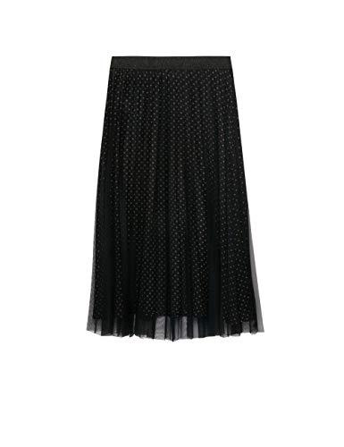 Fiorella Rubino: Rok van geplisseerde tule (Italian Plus Size)