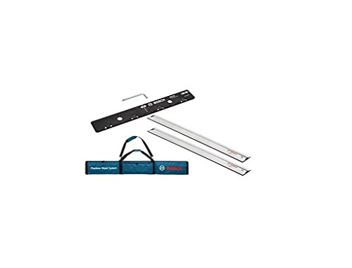 Bosch Professional FSN bag for guide rails + 2 x FSN 1600 (compatible with Bosch GKS Professional circular saws, GKS G-models, GKT plunge saws, selected GST jigsaws + GOF routers with adapter)