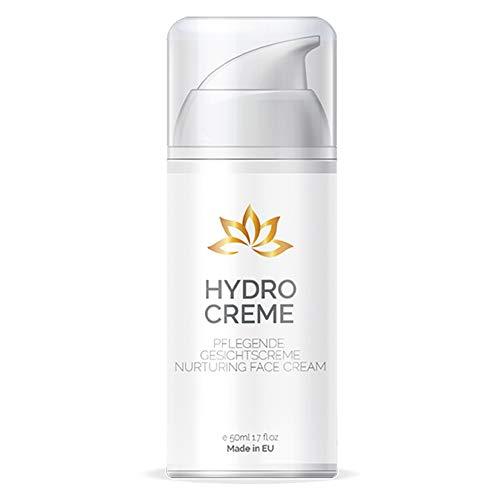 Hydro Creme – Anti Aging Skin Care | Feuchtigkeitscreme Gesicht (1 Flasche)