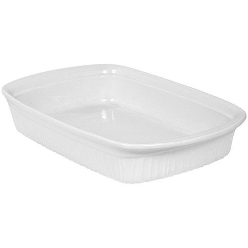 CorningWare French White II 3-Quart Oblong Dish