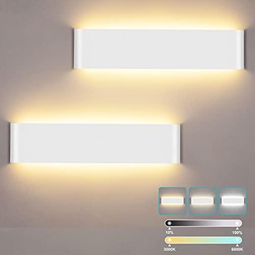 lampadario camera da letto a parete LUTDK Lampada da Parete Interno 24W