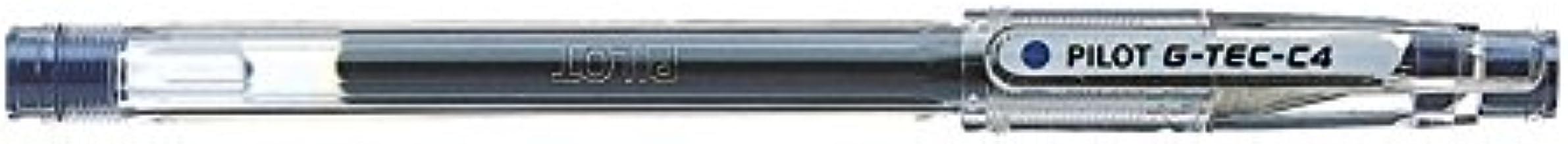 Penna a sfera G-TEC-C4 blu 0.4mm Pilot, roller