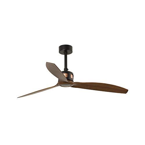 Faro Barcelona 33451WP- COPPER FAN Ventilador de techo negro/madera SMART