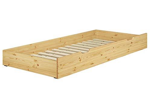 Erst-Holz Cassettone Letto per I Nostri Letti 90x200 in Pino con doghe rigide 90.10-S6