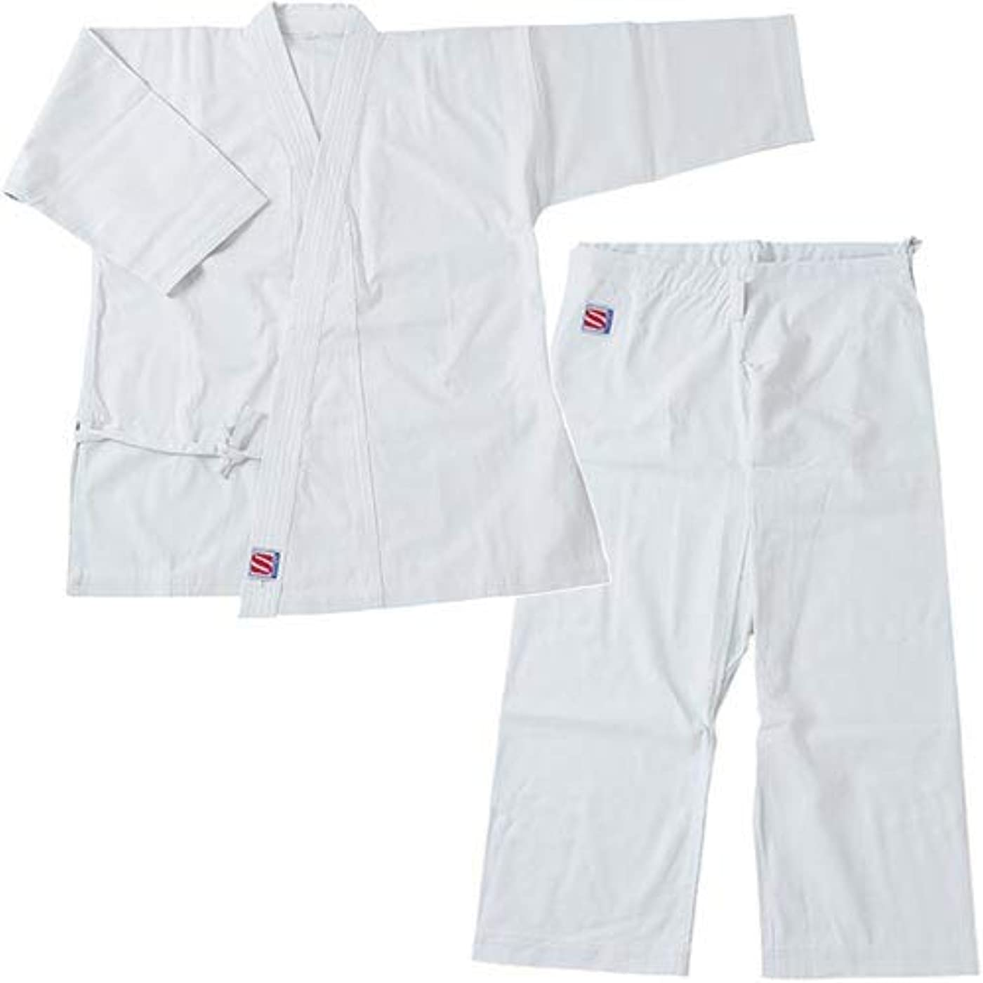 対立禁止ライド九桜 空手 晒太綾 空手衣 S-2 号サイズ ( 上下セット ) R2NS2