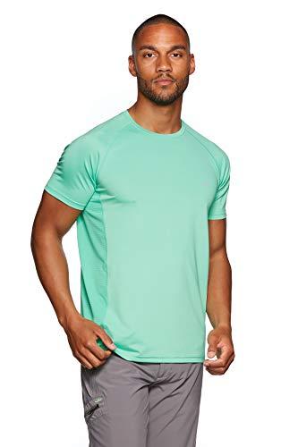 Jeff Green Herren Atmungsaktives Kurzarm Funktions Shirt Marvin, Größe - Herren:XXL, Farbe:Jade Cream