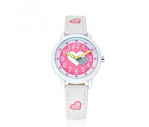 laza キッズ 子供用腕時計 (ホワイト)