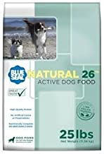 Kent Nutrition Blue Seal Natural 26 Active Dog 25 Lbs. High Quality Protein, No Artificial Color or Preservatives, Nutritionally Complete with Added Vitamins and Minerals