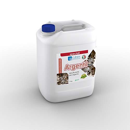 cubex professional ARGENTIL Detergente per la Pulizia dell'argento 5 kg