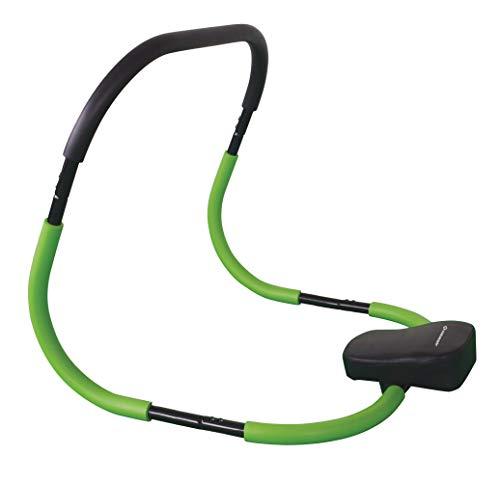 Schildkröt Tauchmaske Mit Schnorchel Fitness Ab Roller-bauchwegtrainer Classic, (Black-green), 960042 70.5x64.5x65.0