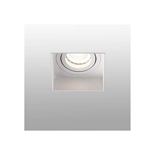 Faro Barcelona 40112 - HYDE Lámpara empotrable blanco cuadr