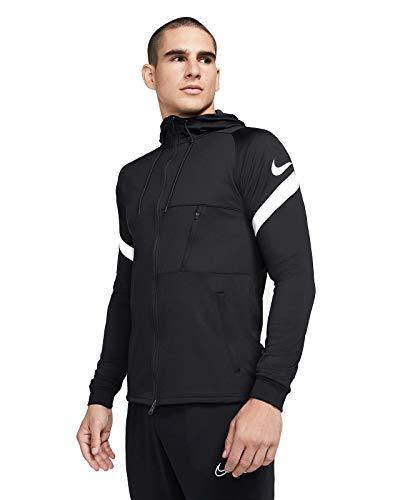 Nike Strike 21 Full-Zip Jacket Giacca con cerniera intera, Bianco/nero/bianco, L Uomo