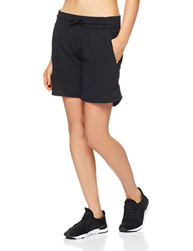 adidas Damen Knee Length Shorts, Black, S