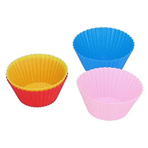 01 Molde para Tartas, 7 Cm / 2,8 Pulgadas Práctica Taza De Silicona para Hornear para Panadería para Hornear para El Almuerzo/Bocadillos para El Hogar