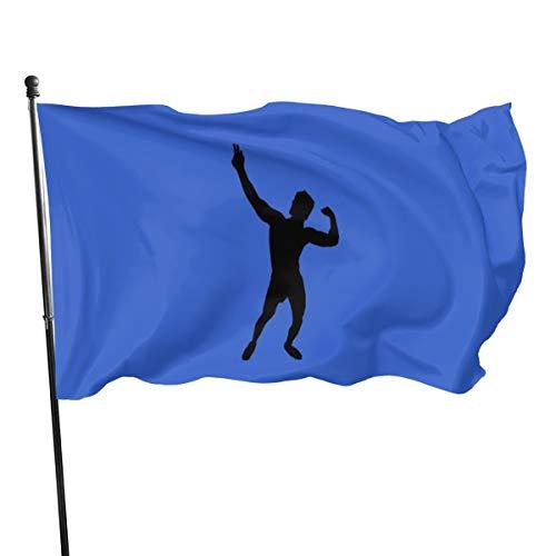 Großes Logo Thsirt-Flagge, 91 x 152 cm