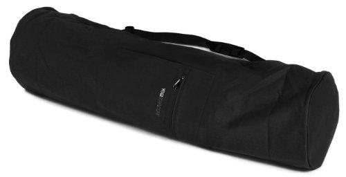 Yogistar Yogatasche Extra Big - Baumwolle - 75 cm - Schwarz