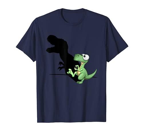 Dino T-Rex Schattenfigur Puppenspiel Dinosaurier T-Shirt