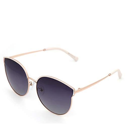 DFZJJ Zonnebrillen- Zonnebrillen Vrouwelijke UV Bescherming Gepolariseerde Retro Kat Oog Zonnebril Zonnescherm Mode Rijden Spiegel