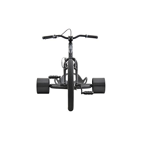 Triad Underworld 3 Drift Trike Tricycle, Black/Grey