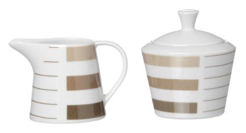 Ritzenhoff & Breker - Set di 2 Pezzi Moreno 032086, zuccheriera e caraffa per Latte