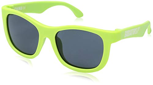 Babiators Navigator UV Protection Children's Sunglasses, Sublime Lime, 3-5 Years