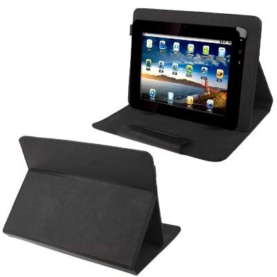JIANGHONGYAN Funda de Cuero Universal con Soporte for Tablet PC de 7.0 Pulgadas (Negro) (Color : Black)