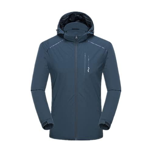 De secado rápido de fútbol a prueba de lluvia chaqueta de invierno chaquetas de fútbol para hombre