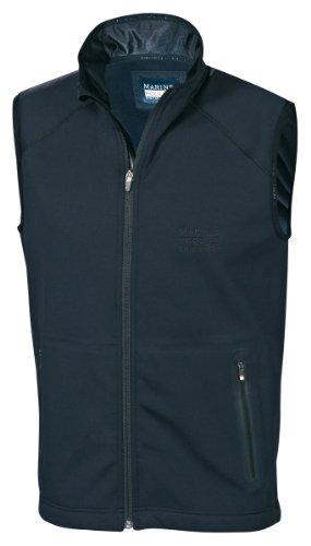 Marinepool Erwachsene Jacke B3 Midlayer Fleece Vest, Black, XS, 5000441-800-160