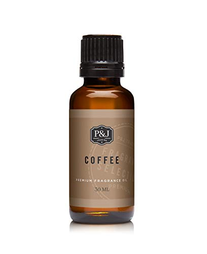 P&J Trading Coffee 30ml Fragrance Oil for Candle Fragrance, soap Making, Home Crafts, Scented Oils, Diffuser Oil, Bath & Body Crafts.